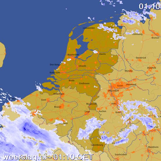 sneeuwradar Benelux